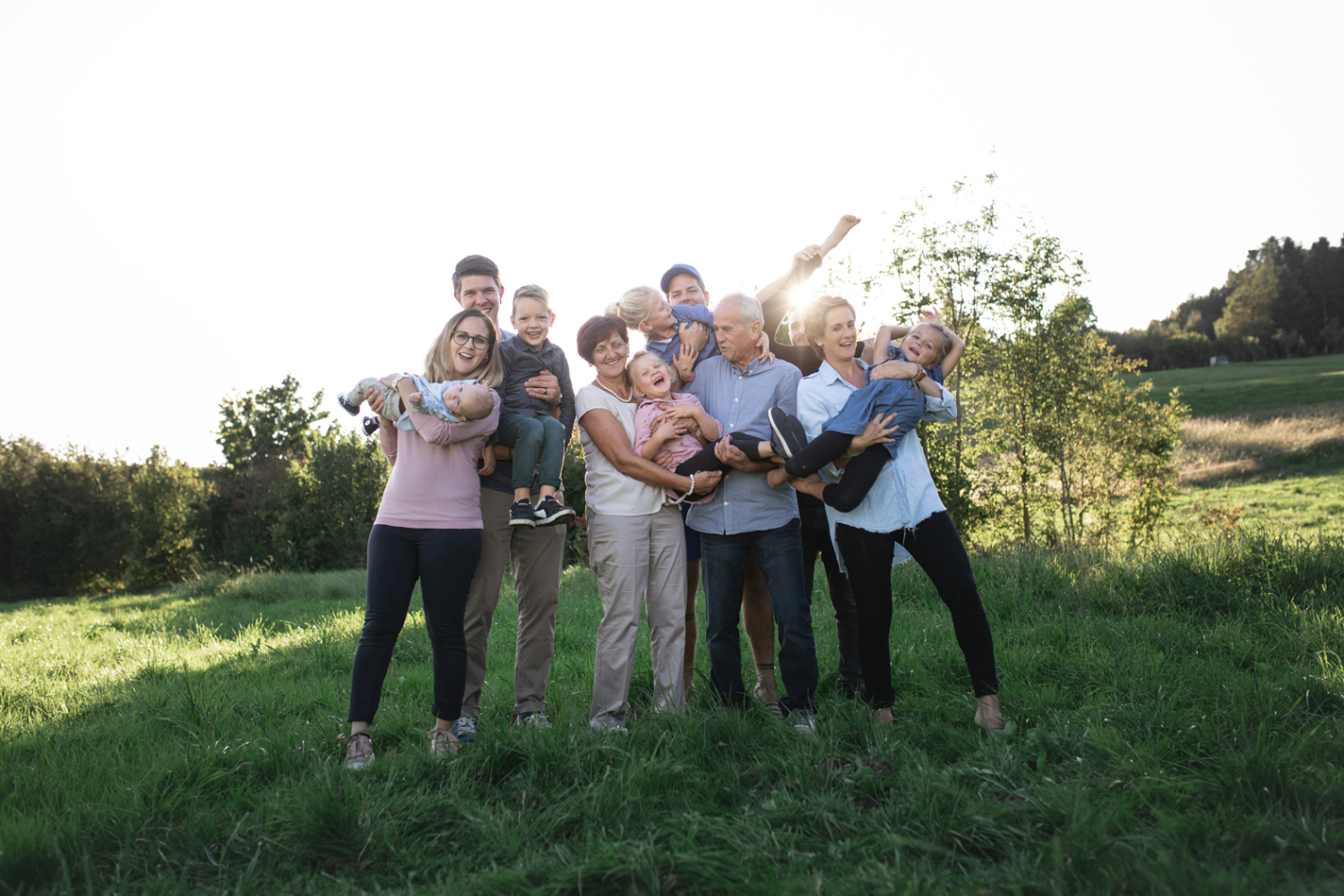 Familienshooting, Family Shooting, Generationen, Sursee, Zentralschweiz