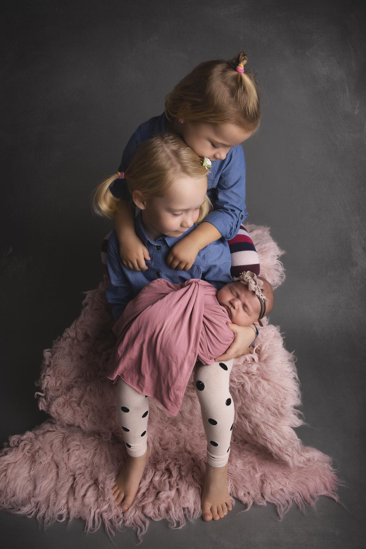 Newborn Shooting, Babyshooting mit Geschwister, Sempach
